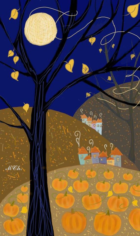 Full moon - Milena Cholakova