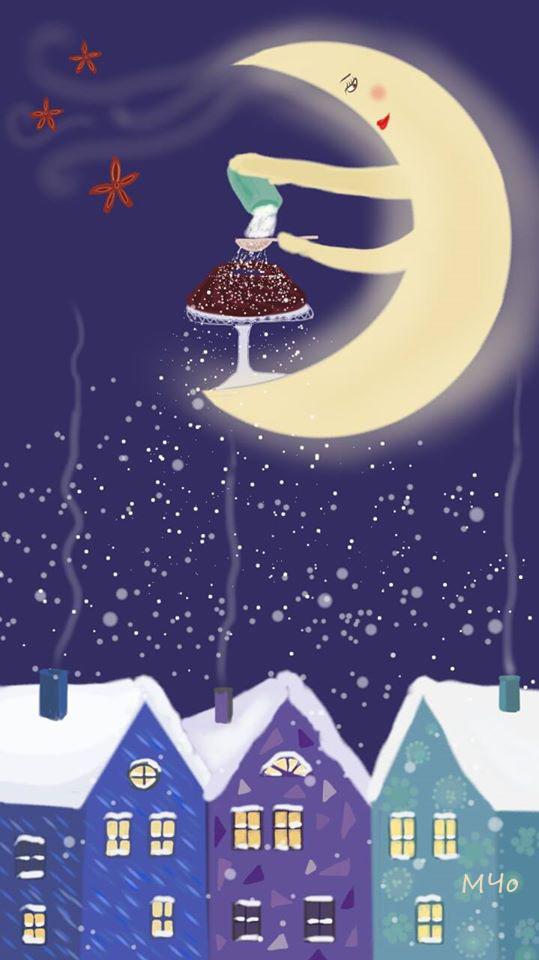 Moon cake - Milena Cholakova