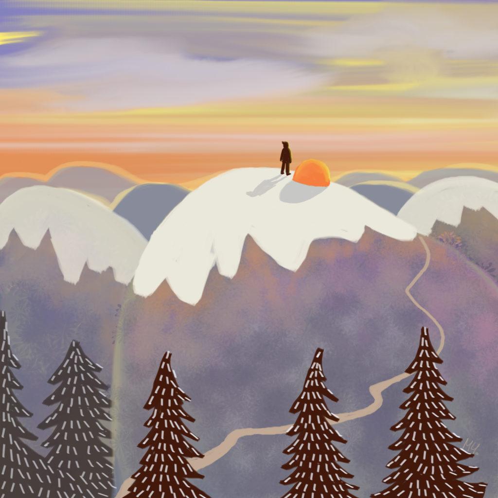 Blue mountains - Milena Cholakova