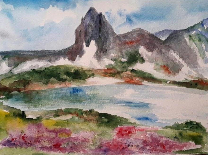 Spring colours in Rila mountain