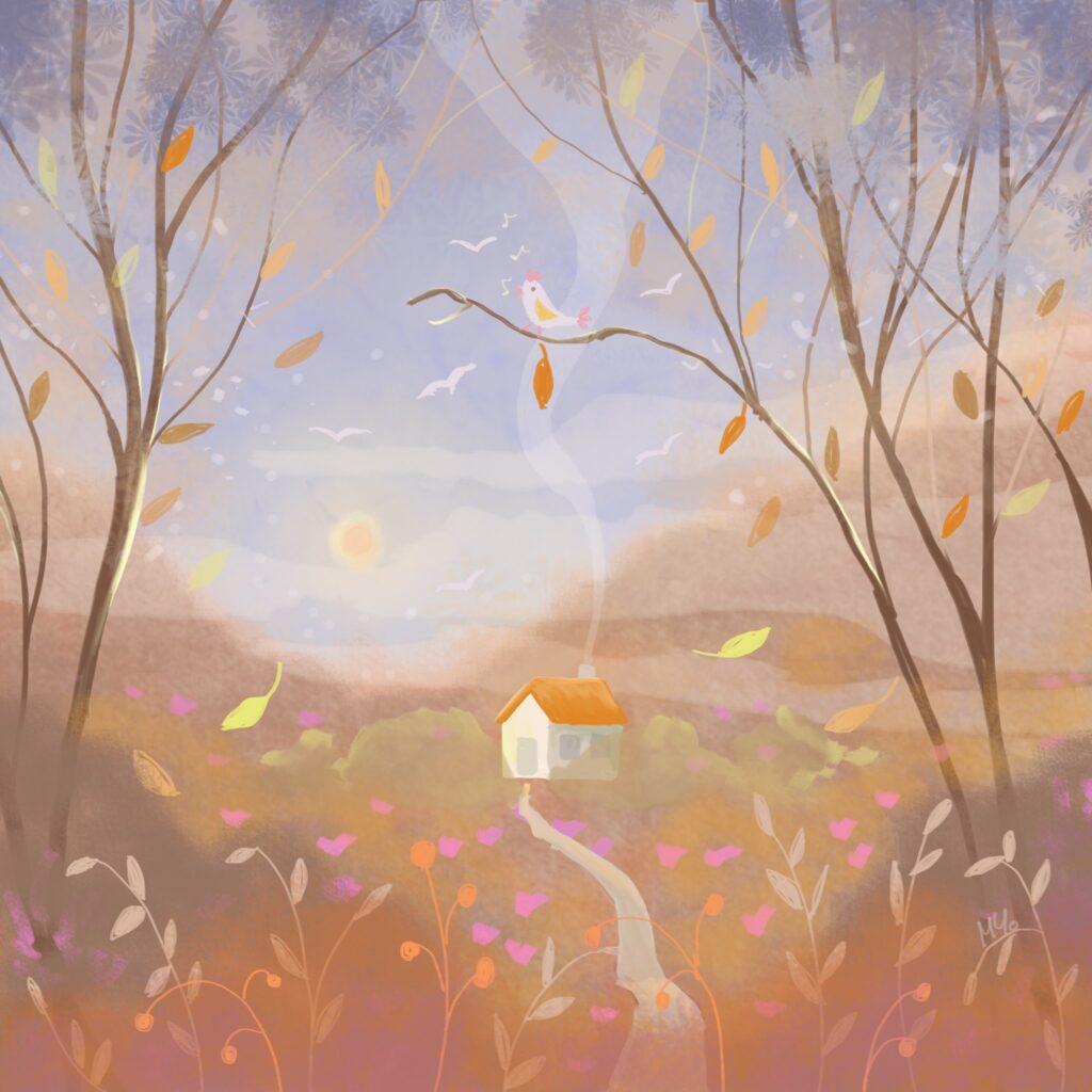 Autumn forest - Milena Cholakova