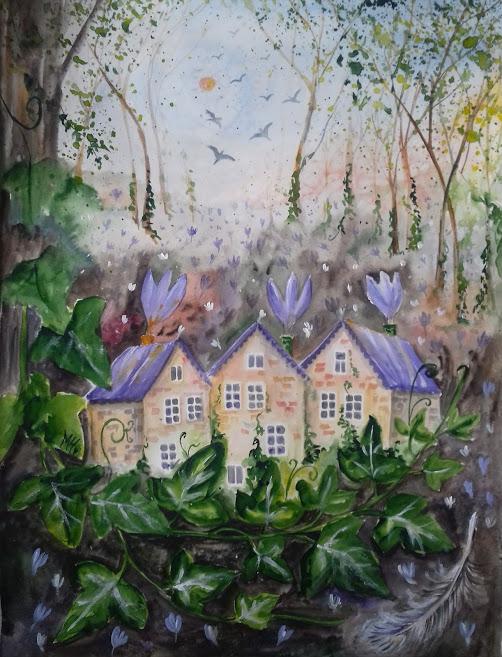 Spring forest - Milena Cholakova