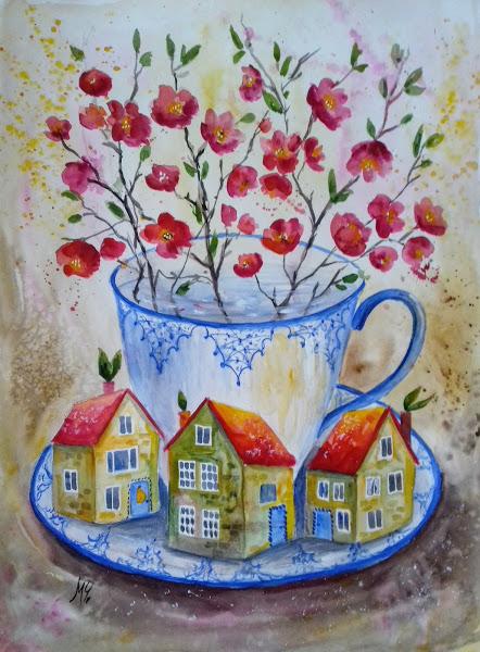 Flowering quince - Milena Cholakova