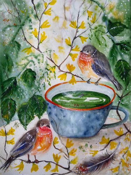 Nettle soup - Milena Cholakova