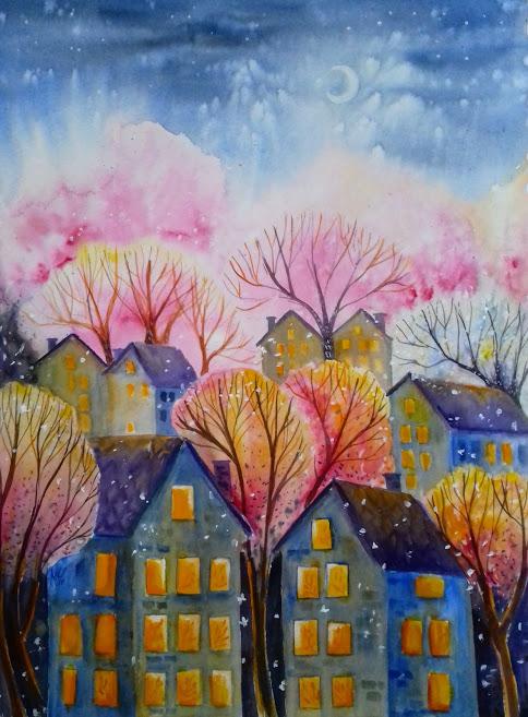 Spring night - Milena Cholakova
