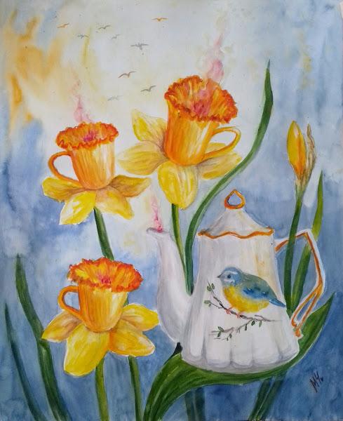 Spring tea set - Milena Cholakova