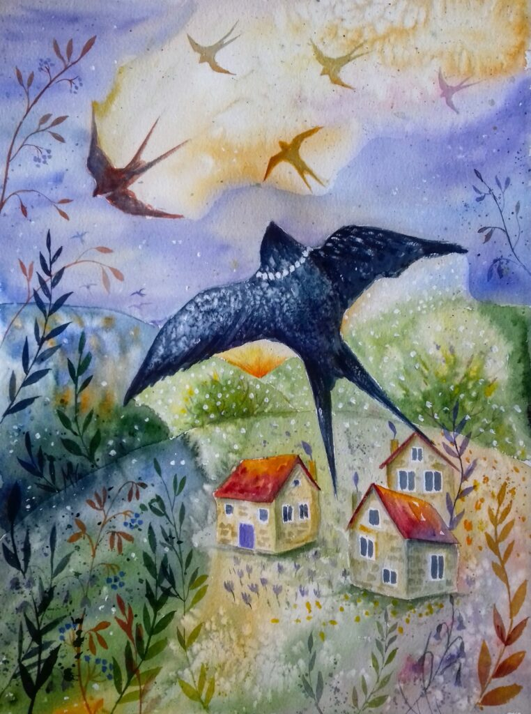 Return of the swallows - Milena Cholakova