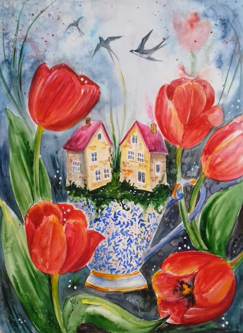 Tulips - Milena Cholakova