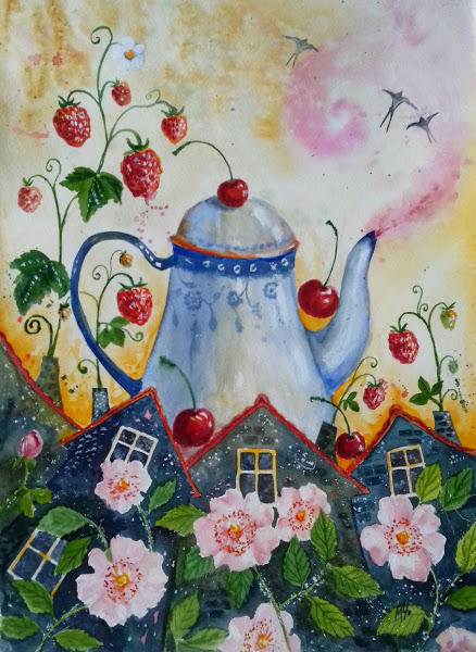 Pink bloom - Milena Cholakova