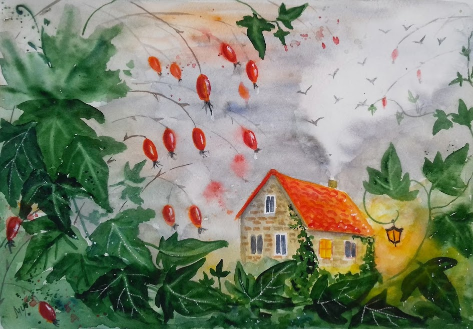 Къщата с бръшлян - Милена Чолакова
