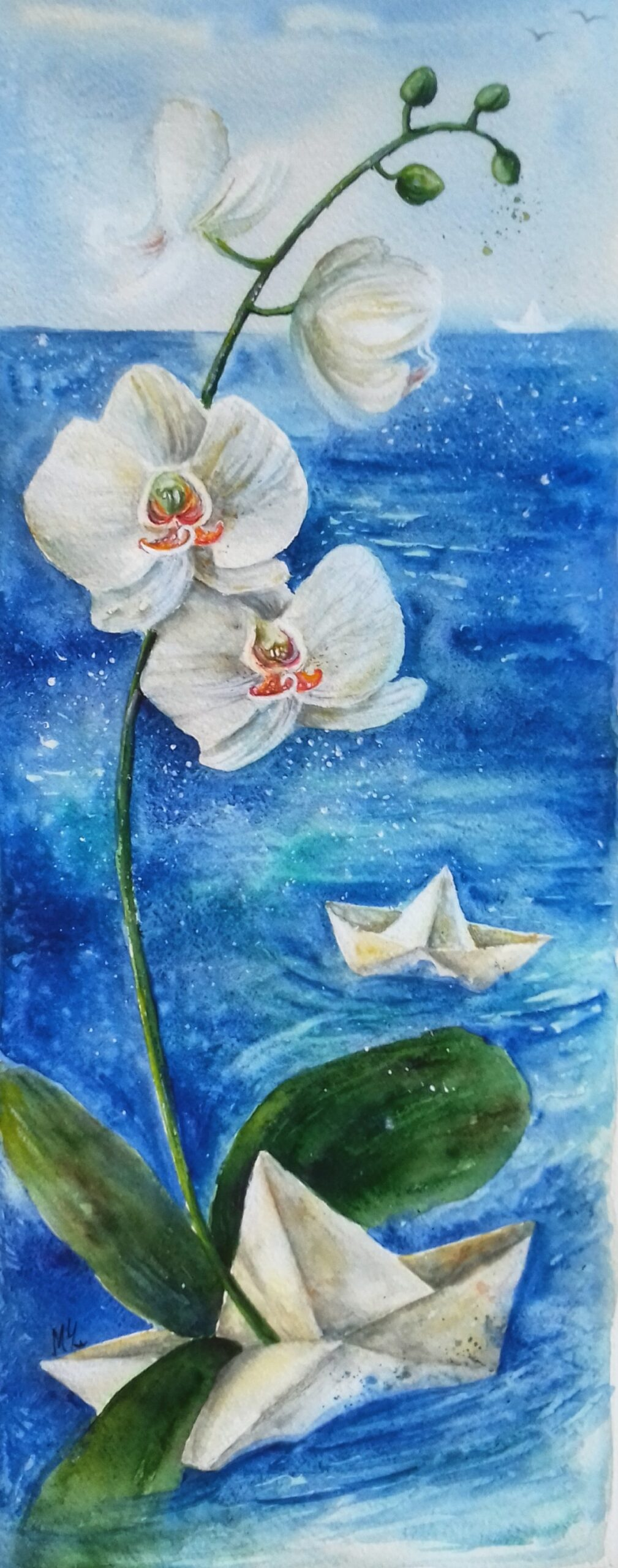 Бяла орхидея - Милена Чолакова